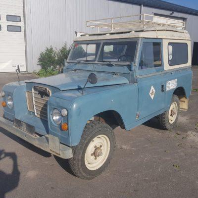 Land Rover Series III - diesel -1976