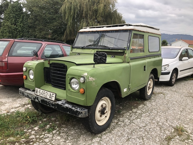 Land Rover Series III - spaans kenteken